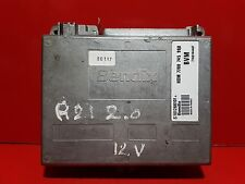 RENAULT R21 2.0i CALCULATEUR MOTEUR REF 7700745990 7700744407 S101266101A