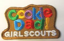 """New Girl Scout Cookie Sale Fun Patch """"Cookie Dad!"""""""