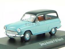Simca Aronde P60 Ranch 1961 blau Modellauto 576011 Norev 1:43