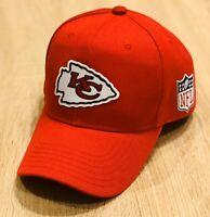 KANSAS CITY CHIEFS NFL Patch Style Cap Hat 2019 Super Bowl Red Adjustable