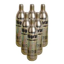 Co2 Keg Charger Cartridges / Bulbs 16 Gram each - 6 Pack - Threaded - Homebrew
