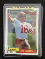 Joe Montana RC Topps 1981 Rookie Card Reprint