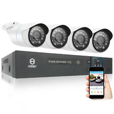 Hodely 8CH HDMI AHD DVR 1800TVL IR Outdoor CCTV HD Camera Video Security System