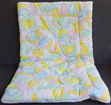 Vintage Pastel ABC Toddler Sleeping Bag Blanket Baby Animals Kitten Giraffe Lamb