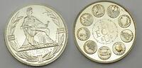 1 piece de 1 ecu en Argent 1980  -  Europa