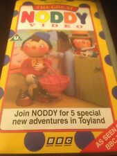 THE GREAT NODDY VIDEO VIDEO VHS TOYLAND RARE ANIMATED CARTOON ENID BLYTON BBC