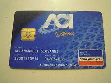 TESSERA ACI AUTOMOBILE CLUB D'ITALIA 2005/2006 (SCADUTA ) (C10-225)