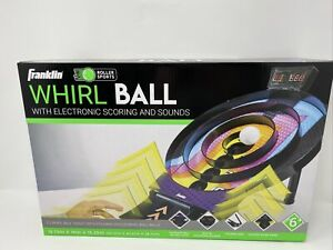 Franklin Sports Whirl Ball Arcade Game - Game Room Ready Tool Free Arcade Game