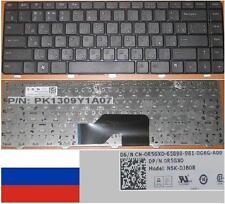 Clavier Qwerty Russe Dell Inspiron 1370 NSK-DJB0R 0R5GX0, PK1309Y1A07 Noir