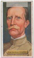Sir George Goldie British Colonial Nigeria Africa Rhodes 80+ Y/O Trade Ad Card
