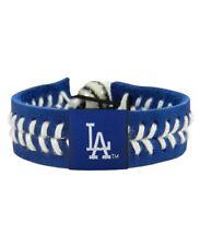 LA Dodgers Baseball Seam Bracelet