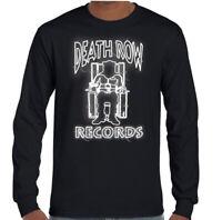 DEATH ROW RECORDS T-SHIRT Mens NWA Tupac 2Pac Shakur Snoop Dogg Dr. Dre Hip Hop