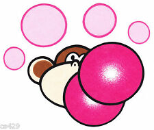"5"" Bobby jack monkey burst my bubble wall safe fabric decal cut out character"