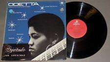 ODETTA Spirituals for Christmas LP Super Majestic 1964 France soul gospel folk