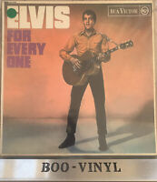 ELVIS PRESLEY-ELVIS FOR EVERYONE-RCA RED SPOT-MONO VINYL LP ALBUM VG+ / VG+