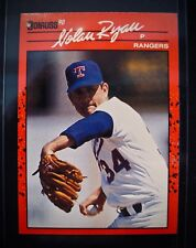 NOLAN RYAN~Donruss 1990 Baseball Card #166-Mint (Just Opened Pack)