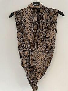 leopard print bodysuit