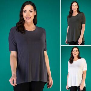 Kasara short sleeve top various colours, M 12-14, XL 20-22 uk