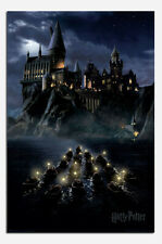 Harry Potter Hogwarts Boats Film Poster New