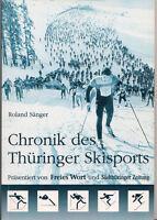 99855017 Roland Sänger, Chronik des Thüringer Skisports Suhl 1995