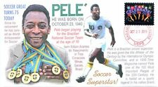 COVERSCAPE computer designed 75th anniversary of the birth of Pelé event cover