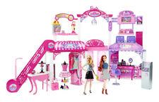 Barbie Malibu Ave Mall Version with Dolls, Escalator, Screen