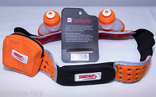 "FuelBelt Helium 2 Bottle Hydration Belt Orange SizeXL 36-38"" Triathlon Fuel Belt"