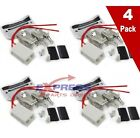(4 Pack) 12001676 Burner Receptacle for Whirlpool, Maytag AP4009015, PS1570190 photo