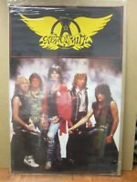 Vintage Poster AEROSMITH Group rock 1987 Inv#G1297