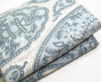 Pottery Barn Blue Ashlyn Organic Cotton Full Queen Duvet Cover New