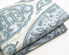 Pottery Barn Blue Ashlyn Organic Cotton Full Queen Duvet Cover 1 Sham New