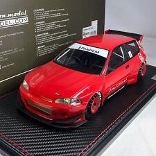 1/18 HPI IG Model Honda Civic EG6 PANDEM Wide body Red #IG1050