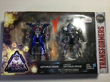 Transformers Premier Edition The Last Knight Optimus 2 Pack Toys r us exclusive