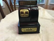 UNCLE SAM'S 3 COIN REGISTER BANK - Durable Toy & Novelty Corp.