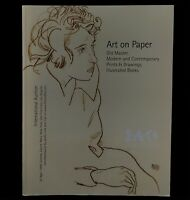 Catalogue: Art on Paper: International Auction, April 29 1999 FREE SHIPPING