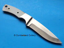 """Hunting Knife Making Blade Blank with Stainless Finger Guard 9-1/2"""""""