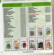 stock di 84 libri serie giovani lettori - la spiga nuovi - 9-12 anni- 68 euro -