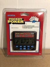 Radica Pocket Poker Video Poker Automatic Scorekeeping New 1310