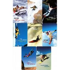 2002 Used Phonecards Series Sport Extreme 8 Tiles Telecom New MF60331