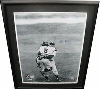 Don Larsen Signed Autographed 16x20 Photo Custom Framed New York Yankees PSA