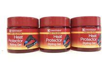3 PK FANTASIA IC Hair Polisher Heat Protector Styling Gel 16 OZ