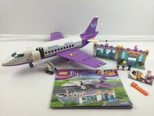 Lego Friends Set 41109 ~ Heartlake Airport and Large Plane ~ 99% Complete