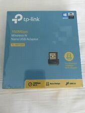 Brand New TP-LINK 150Mbps Wireless N Nano USB adapter (TL-WN725N)