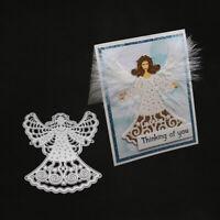 Stanzschablone Engel Dame Märchen Weihnachts Hochzeit Geburtstag Karte Album DIY