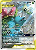 Pokemon TCG Celebi & Venusaur GX SM167 Sun & Moon Black Star Promo NM/M SKU#397