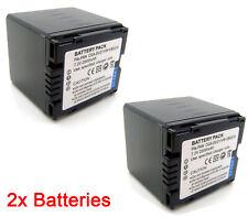 2x CGA-DU21 Battery for Panasonic NV-GS230 NV-GS250 NV-GS258 NV-GS280 NV-GS300