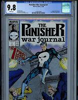 Punisher War Journal #1 CGS graded 9.8 NM/MT Marvel Comics 1987  k8