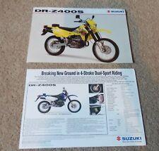 Suzuki DR-Z400S DRZ400 DR-Z400 DR-Z 400 S Sales Leaflet / Brochure