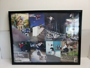 Etnies Pro Skate Team Skateboarders Riders Poster Autographed Signed