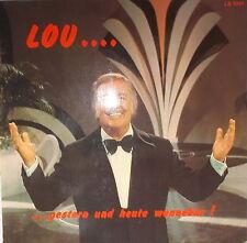 LP Lou van Burg - Gestern und heute wunnebar NEAR MINT  LB 001